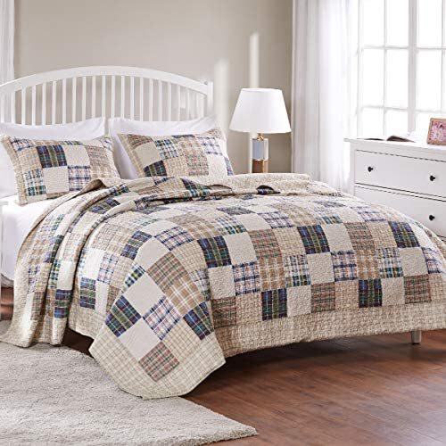 Greenland Home 2 Piece Oxford Quilt Set Twin Multicolor product image