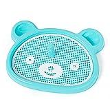 KIFFAY Tappetino per Toilette per Cani di Grandi Dimensioni Vassoio per Lettiera per Interni Accessori per Cani Animali Domestici Poop Pee Pad Cuscini per Addestramento per Cuccioli Blu-63x47x5,5 cm