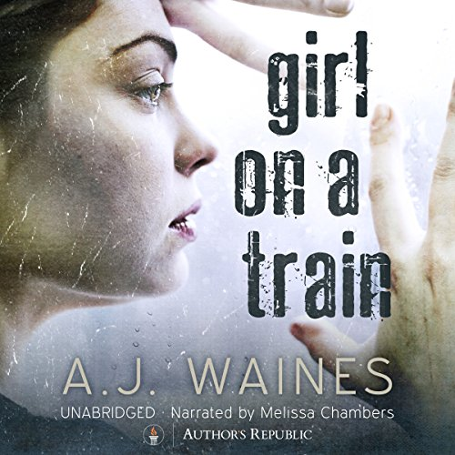 Girl on a Train audiobook cover art