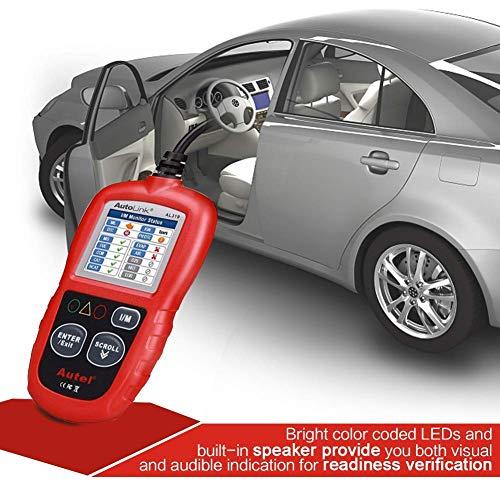 Autel Can Bus Diagnose OBD2 Eobd Auto Fahrzeug Lesegerät, Interface Code Scanner Reader, Lesen und Löschen Fehlercode, Unterstützt Alle Pkw mit Standardem OBD-II Schnittstelle, AL319
