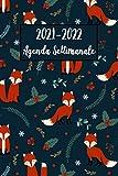 Agenda Settimanale 2021-2022: Volpe Agenda 2021-2022 | Calendario, Diario, Pianificatore, Formato A5 (6x9) - Regali di Volpi (vol. 2)