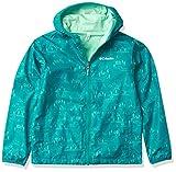 Columbia Jacket Pixel Grabber - Chaqueta reversible, Escena de campamento acuático tropical, S Unisex niños