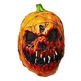 Spaventali a morte - Che maschera! Se se alla ricerca di quel perfetto accessorio di Halloween per spaventare i tuoi ospiti, questa maschera ti permetterà di farlo con stile. L'effetto di terrore è garantito. Attendi e goditi le reazioni! Qualità sup...