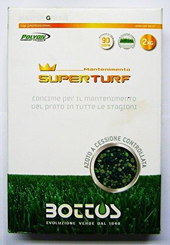 Concime Fertilizzante per Prato Bottos Super Turf 24-6-9 - kg 2