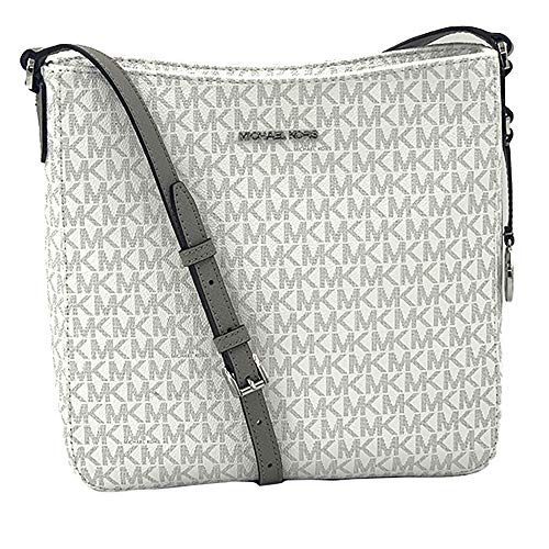 Michael Kors Jet Set Travel Large Messenger - Bright White