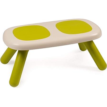 Smoby - Kid Banc - Mobilier pour Enfant - Dès 18 Mois - Intérieur et Extérieur - Double Assise - Vert - 880301