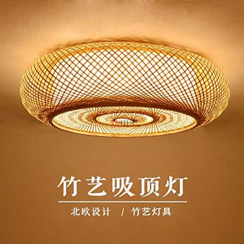NB YULUBAIHUO Las Luces de la lámpara de Asia Plafon Japonesa de...