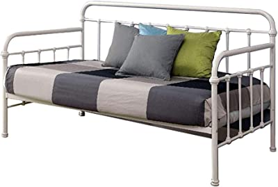 William's Home Furnishing Claremont Bed, White