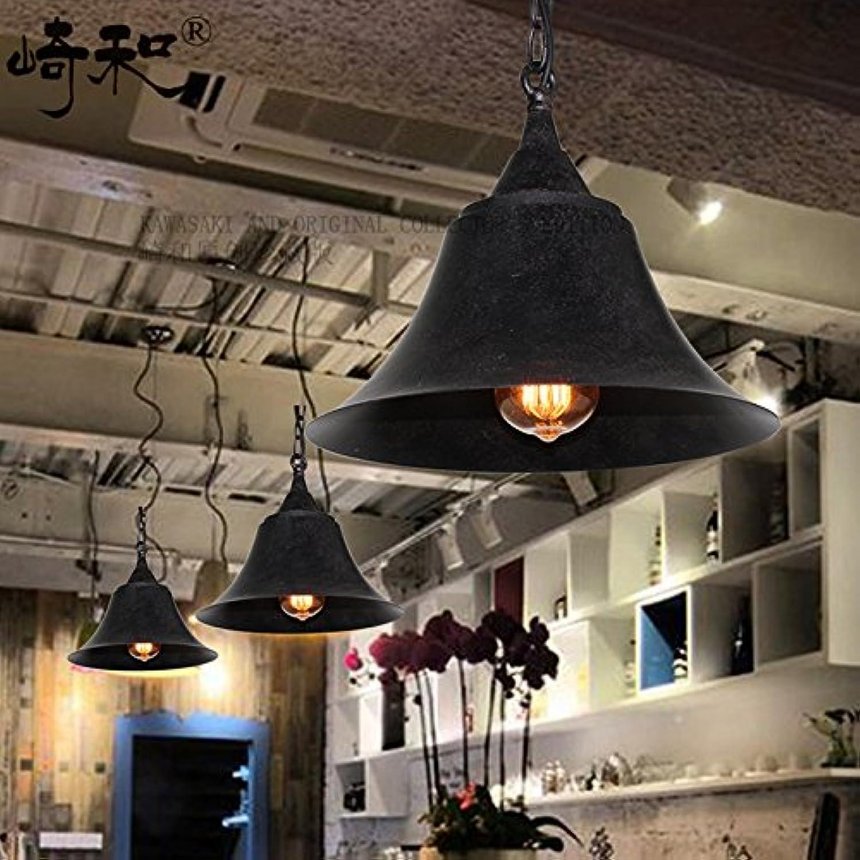 Dolsuml Cool design Suspension Lustre Plafonniers American village singlehead la rouille du fer