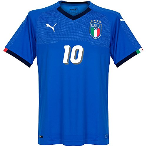 Italien Home Trikot 2018 2019 + R. Baggio 10 (1994 Style) - S