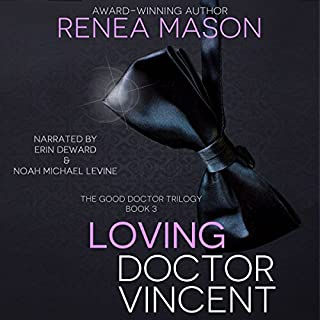 Loving Doctor Vincent audiobook cover art