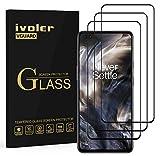 ivoler 3 Unidades Protector de Pantalla para OnePlus Nord 5G, [Cobertura Completa] Cristal Vidrio Templado Premium, [Dureza 9H] [Anti-Arañazos] [Sin Burbujas]