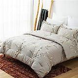 Bedsure Comforter Set Queen Size - Down Alternative Comforter, Microfiber Duvet Sets