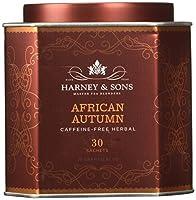 Harney Sons アフリカンオータム カフェインフリーハーブティー 30袋 2 67 oz 75 g