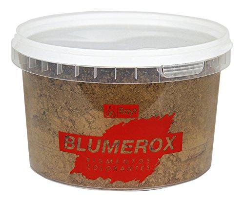 Rayt 1187-71 Polvo Cemento Blanco o Gris, Cal y Yeso. Altísimo Poder colorante. Pigmentos de Primera Calidad. Color Pardo Claro 09, 450gr