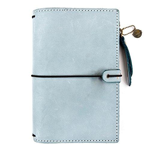 Traveler's Notebook Midori Ice Blue Prima