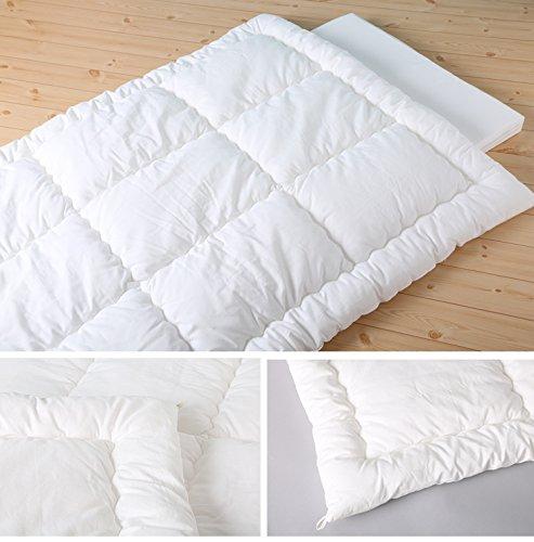 6歳までの寝具図鑑こどものふとん洗える掛け布団ベビー95×120cm防ダニ掛け布団