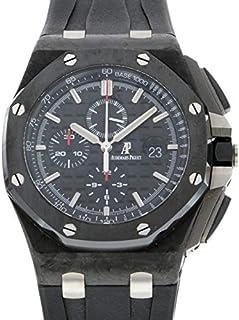 オ-デマ・ピゲ AUDEMARS PIGUET ロイヤルオ-クオフショア クロノグラフ フォ-ジドカ-ボン 26400AU.OO.A002CA.01 中古 腕時計 メンズ (W180033)