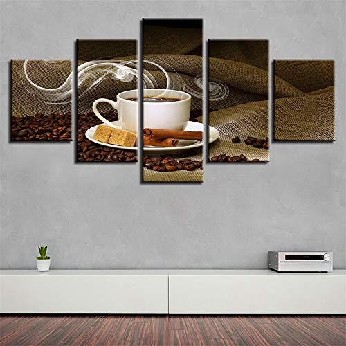 WSNDG Wulian Kaffee Brot Snack leinwand malerei Dekoration malerei leinwand malerei HD Moderne Inkjet wandmalerei ohne bilderrahmen B4 30 * 40 * 2 30 * 60 * 2 30 * 80 * 1
