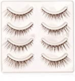 Miche Bloomin False Eyelashes - 12 Sweet Brown By Miche Bloomin for Women - 4 Pair Eyelashes, 4count