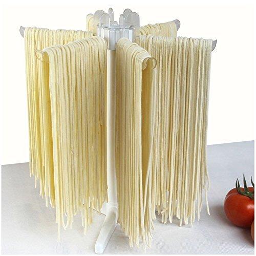 Yookay klappbar Pasta Trocknen Rack Spaghetti Trockner Ständer Nudeln Trocknen Halterung zum Aufhängen Rack