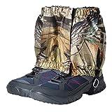 LIOOBO 1 para Outdoor Wandern Jagd Schnee Sand Schlange wasserdichte Stiefel Abdeckung Legging Gamaschen -
