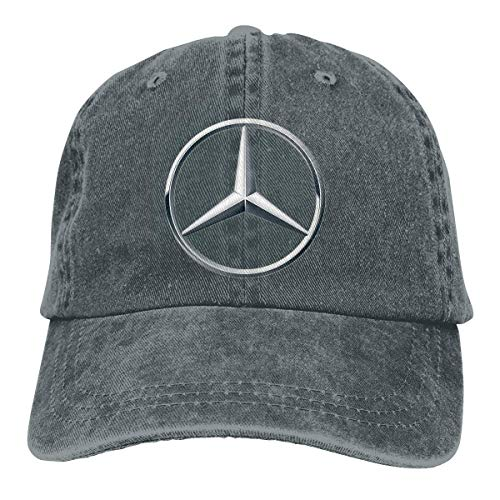 Men's Vintage Adjustable Cap Customized Mercedes Benz Logo...
