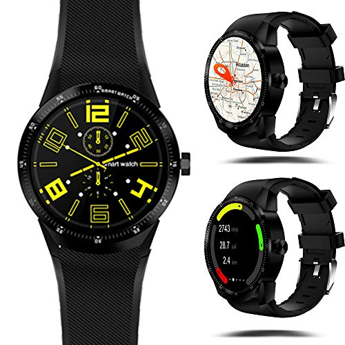 Indigi New GSM Android 5.1 Smart WatchPhone Google Play Store Apps WiFi Camera Unlocked