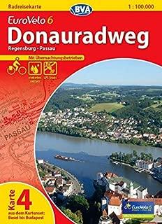 Eurovelo 6 / K.4 - Regensburg -Passau GPS wp r/v cycling map (German Edition)