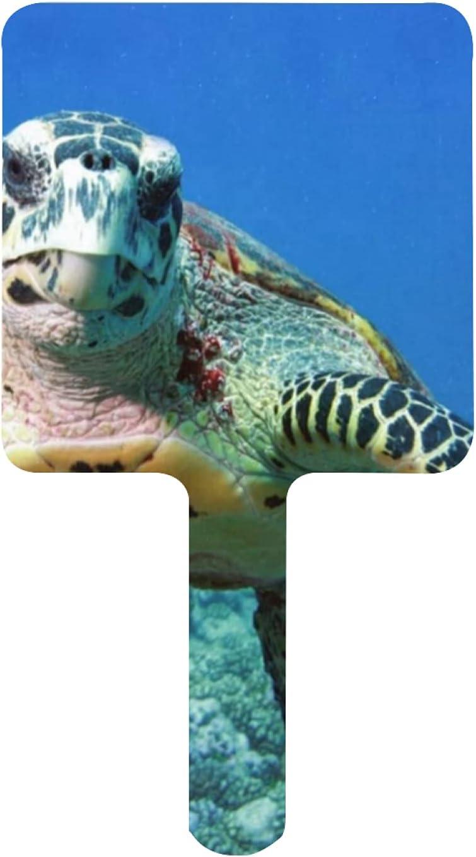 XfaithX Hand Mirror Undersea sea Denver Mall Our shop most popular Hai Amazing Salon Turtle Barber