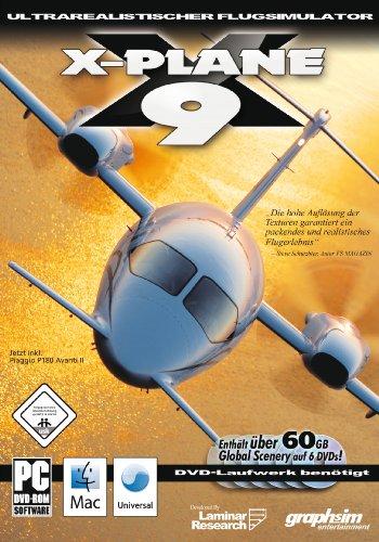 X-Plane 9 für Mac [Importación alemana]