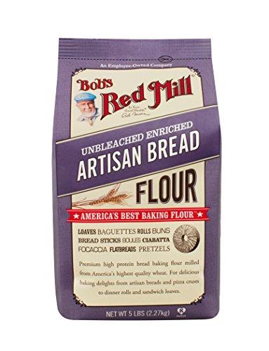 Artisan Bread Flour 5 Pounds (Case of 4)