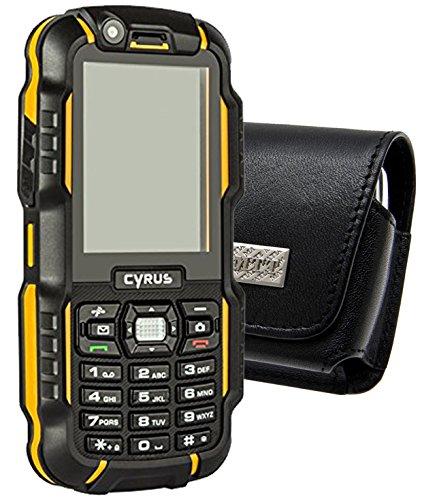Original MTT Quertasche für / CYRUS CM15 Outdoor / Horizontal Tasche Ledertasche Handytasche Etui mit Gürtelschlaufe*