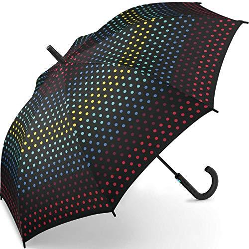 Esprit - Paraguas de bastón con puntos automáticos