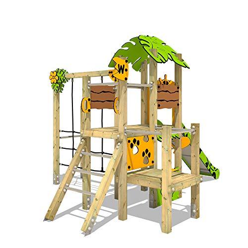 Klettergerüst WICKEY PRO MAGIC Tour+ für den öffentlichen Gebrauch - Entwickelt nach DIN EN 1176 - Kletterturm mit Rutsche für Kindergarten, Schule, Hotel, Restaurant, Ferienpark & Campingplatz - 5