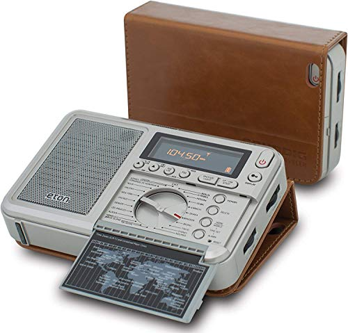 Eton Executive Traveler AM/FM/Longwave/Shortwave Radio with Auto Tuning Storage