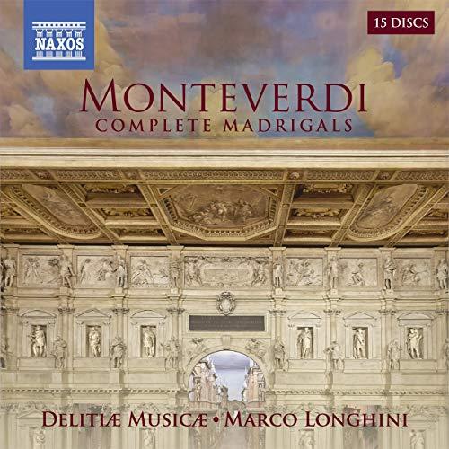 Claudio Monteverdi: Madrigali Libri I-IX (Gesamtaufnahme, 15 CD-Box)