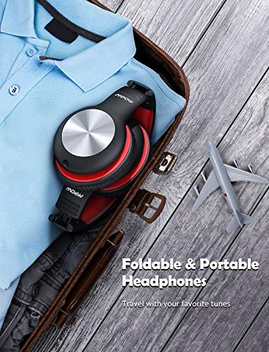 Mpow CH6 Pro Kids Headphones Over-Ear with Microphone and Volume Limited 85dB/94dB, Wired Headphone for Teens Girls Boys, HD Stereo Headset w/Sharing Function, Foldable Headset for School/PC/Cellphone