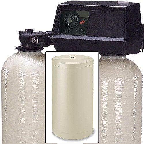 AFWFilters Fleck 9100 Dual tank water softener 32k, 32,000 grain metered on demand control