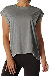 Hotkey Womens Tops Summer Women Open Back Workout Top Shirts Yoga Activewear Exercise Tops T Shirts