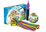 Balloon Animal Kit, Complete Twisting & Modeling balloon Kit with 100 Balloons for balloon animals, Balloon Pump, and Dvd & More. Great for Boys, Girls & Adults