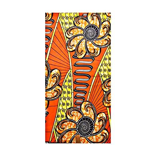 PHEONIX African Wax PAGNE Fabric Super 100% Awọn ohun elo Epo Owu 6yards Ṣe 5,48m
