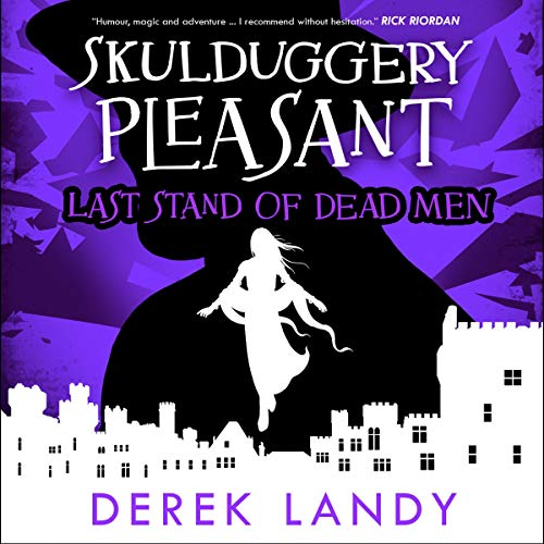 Last Stand of Dead Men      Skulduggery Pleasant, Book 8              By:                                                                                                                                 Derek Landy                               Narrated by:                                                                                                                                 Stephen Hogan                      Length: 19 hrs and 13 mins     Not rated yet     Overall 0.0