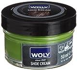 Woly Woly Shoe Cream, Betún Zapatos, Verde (Verde), 50 ml