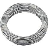 Cable de acero galvanizado, de Ruck Zuck, 3mm,...