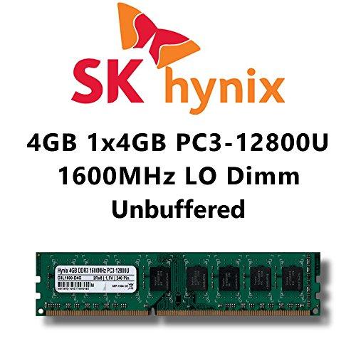 Módulo 4 GB 1 x 4 GB DDR3 1600 mhz PC3 12800U LO