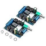 Innovateking-EU 2 Unids Tablero del Amplificador Digital, TPA3116D2 Estéreo de Dos Canales de Alta Potencia Subwoofer Digital Tablero del Amplificador de Potencia 2x50W 5V 12V 24V