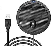 usb マイク ミュート 機能付き 全指向性 マイク USB接続 設定不要 SkypeZoom など対応 オンライン会議、ウェブ会議、ビデオ会議などに対応
