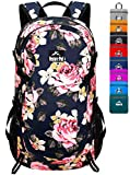 Venture Pal 40L Lightweight Packable Travel Hiking Backpack Daypack, A7.5 Peony Blue, One Size