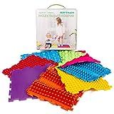 Massage Module Game Mat for Kids - Orthopedic Massage Puzzle Floor mats - Carpet